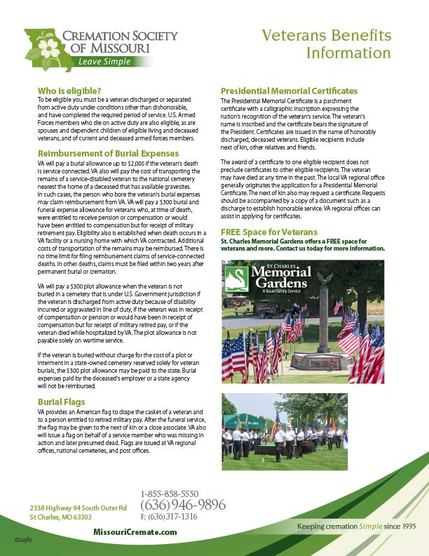 Download Veterans Benefits Information